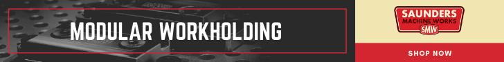 Saunders Machine Works Banner Ad Modular Workholding